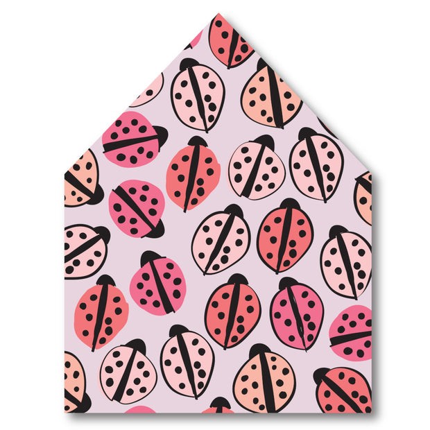 Love Bug Envelope Liner