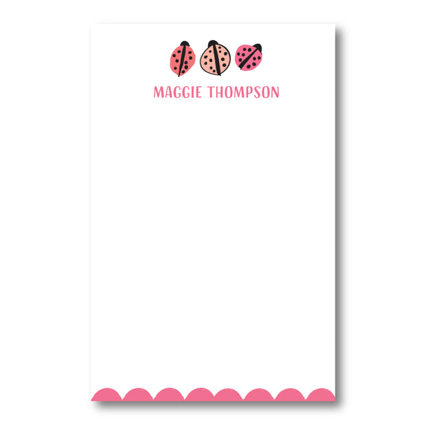 Love Bug Notepad