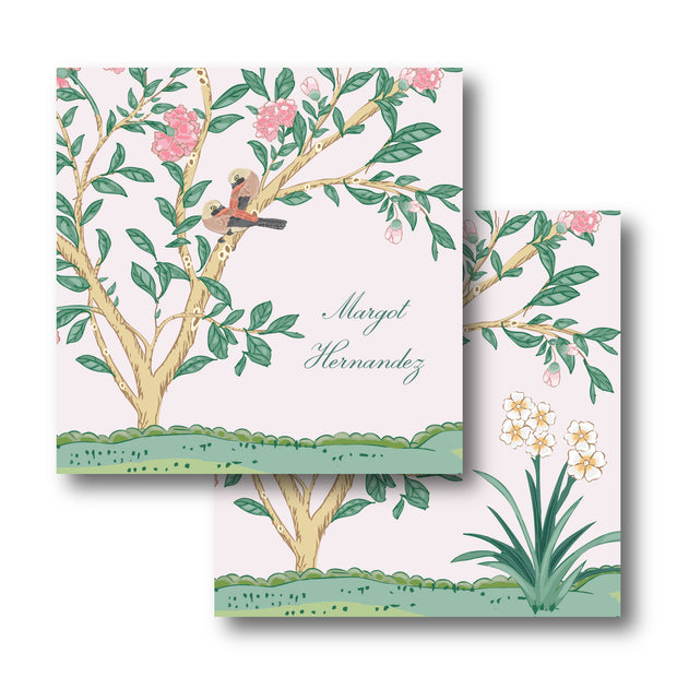 Margot Chinoiserie Calling Card