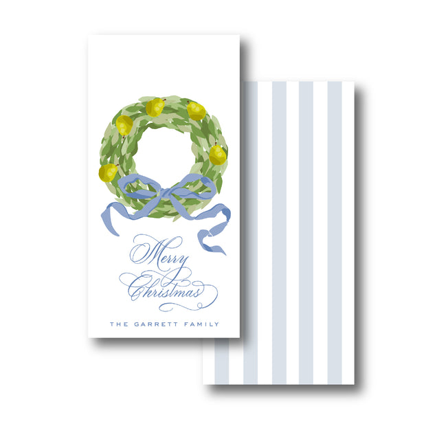 Pear Garland Gift Tag