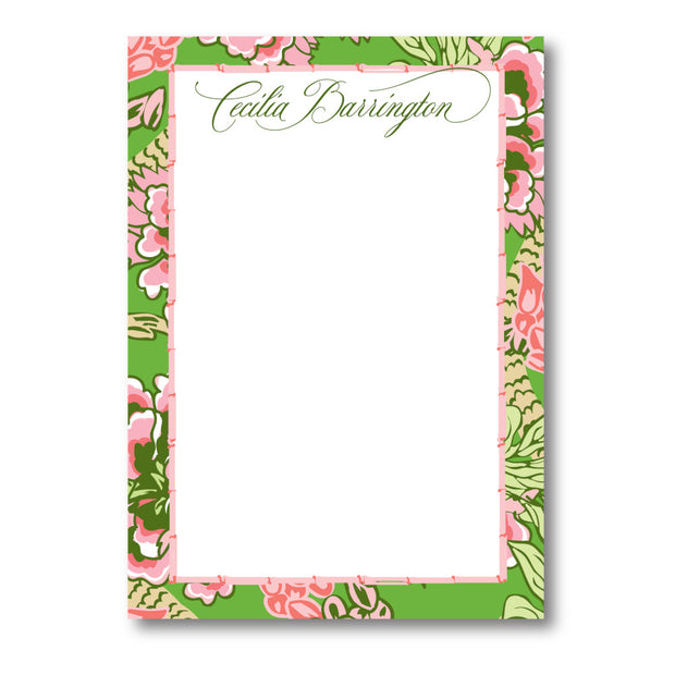 Pink Chinoiserie Notepad