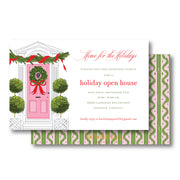 Pink Door Invitation