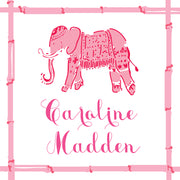 Pink Elephant Calling Card