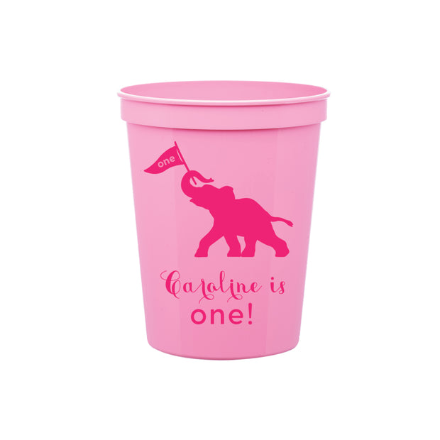 Pink Elephant Cup
