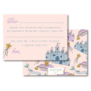 Pretty Princess Fill in the Blank Stationery