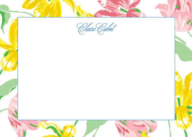 Spring Tulips Stationery