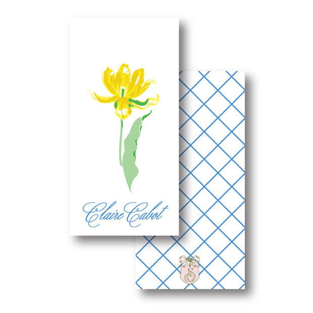 Yellow Tulips Gift Tag
