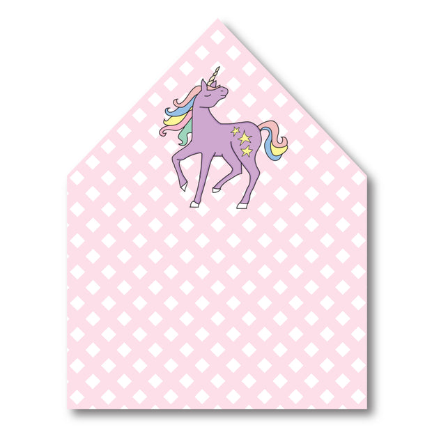 Unicorn Envelope Liner