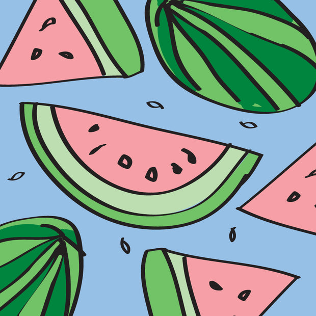 Watermelon Calling Card