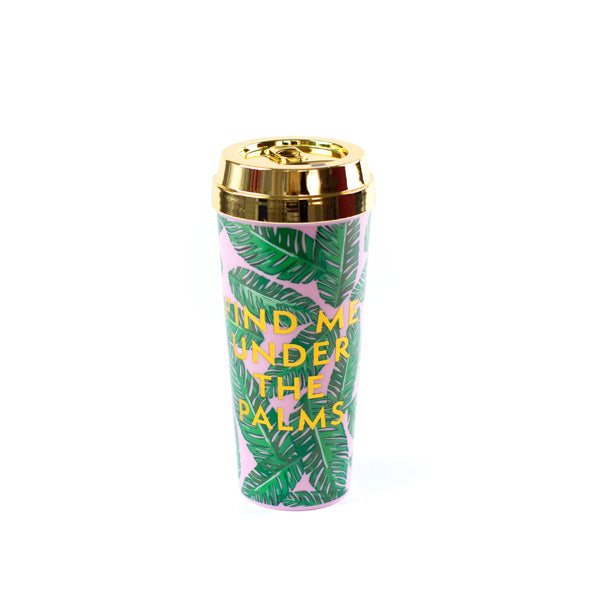 Palm Coffee Tumbler