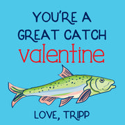 Great Catch Valentine - Tag