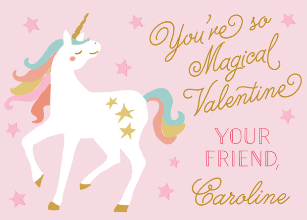 Unicorn Valentine