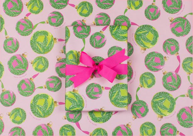 Deck the Palms Gift Wrap