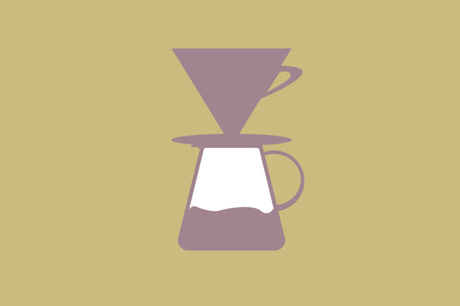 Various glass, plastic, and ceramic coffee brew kits with dripper, filter, and servers