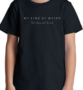 MY KIND OF WEIRD - EQUOS BLUE - WOMEN'S TEE
