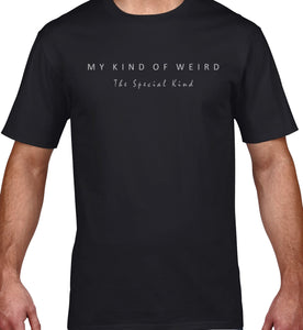 MY KIND OF WEIRD - CAT - MEN'S TEE
