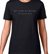 Load image into Gallery viewer, MY KIND OF WEIRD - SCATTERED MAN - WOMEN'S TEE