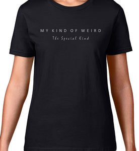 MY KIND OF WEIRD -  TONGUE SKULL - WOMEN'S TEE
