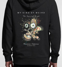 Load image into Gallery viewer, MY KIND OF WEIRD - SCATTERED MAN - Kids & Youth Hoodie