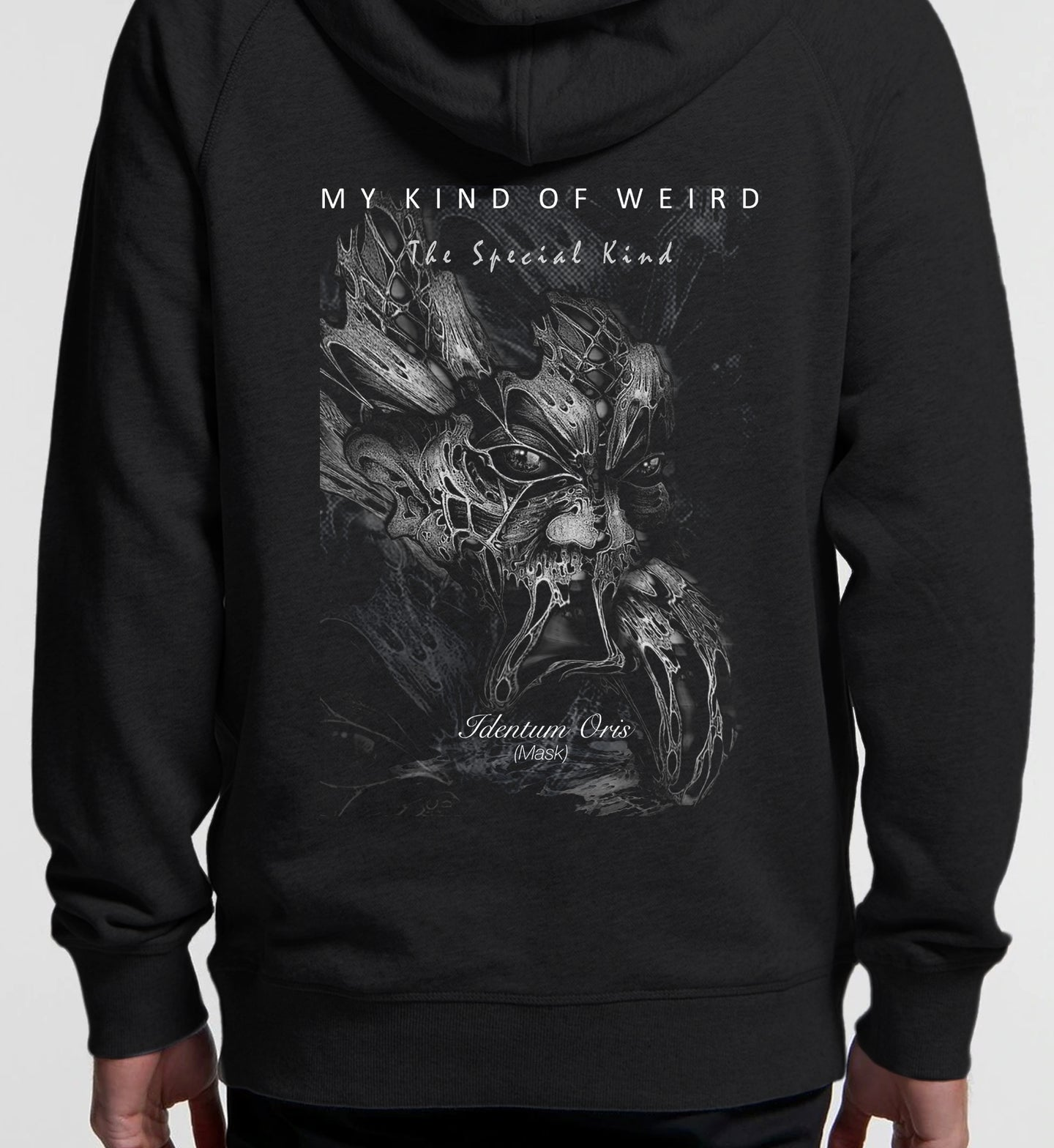 MY KIND OF WEIRD - SKIN MASK - Kids & Youth Hoodie
