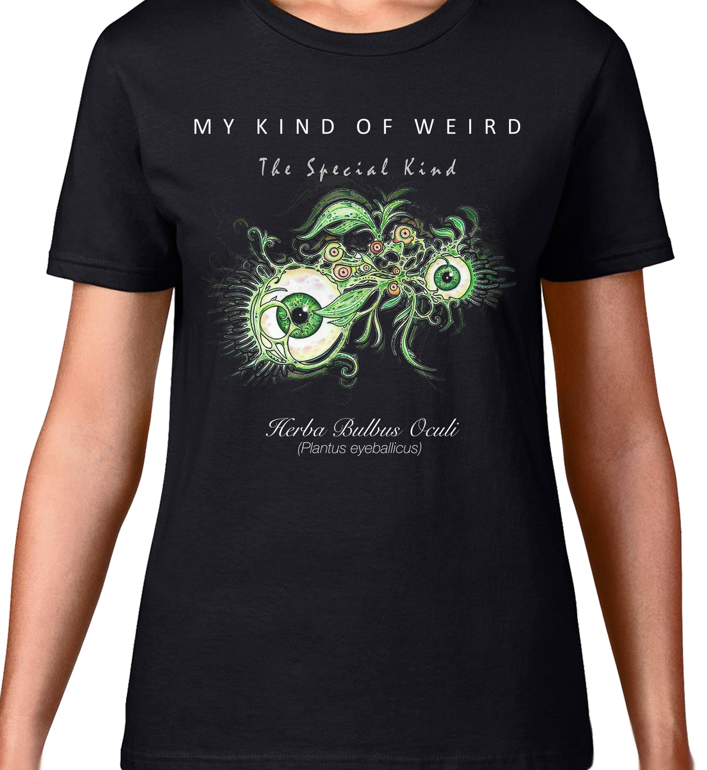 MY KIND OF WEIRD - EYE WINE Horizontal - WOMEN'S TEE