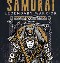 Load image into Gallery viewer, GRAPHIC HOODIE - SAMURAI LEGEND - Kids & Youth Hoodie