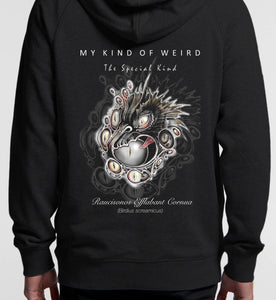 MY KIND OF WEIRD - BIRDIE - Kids & Youth Hoodie