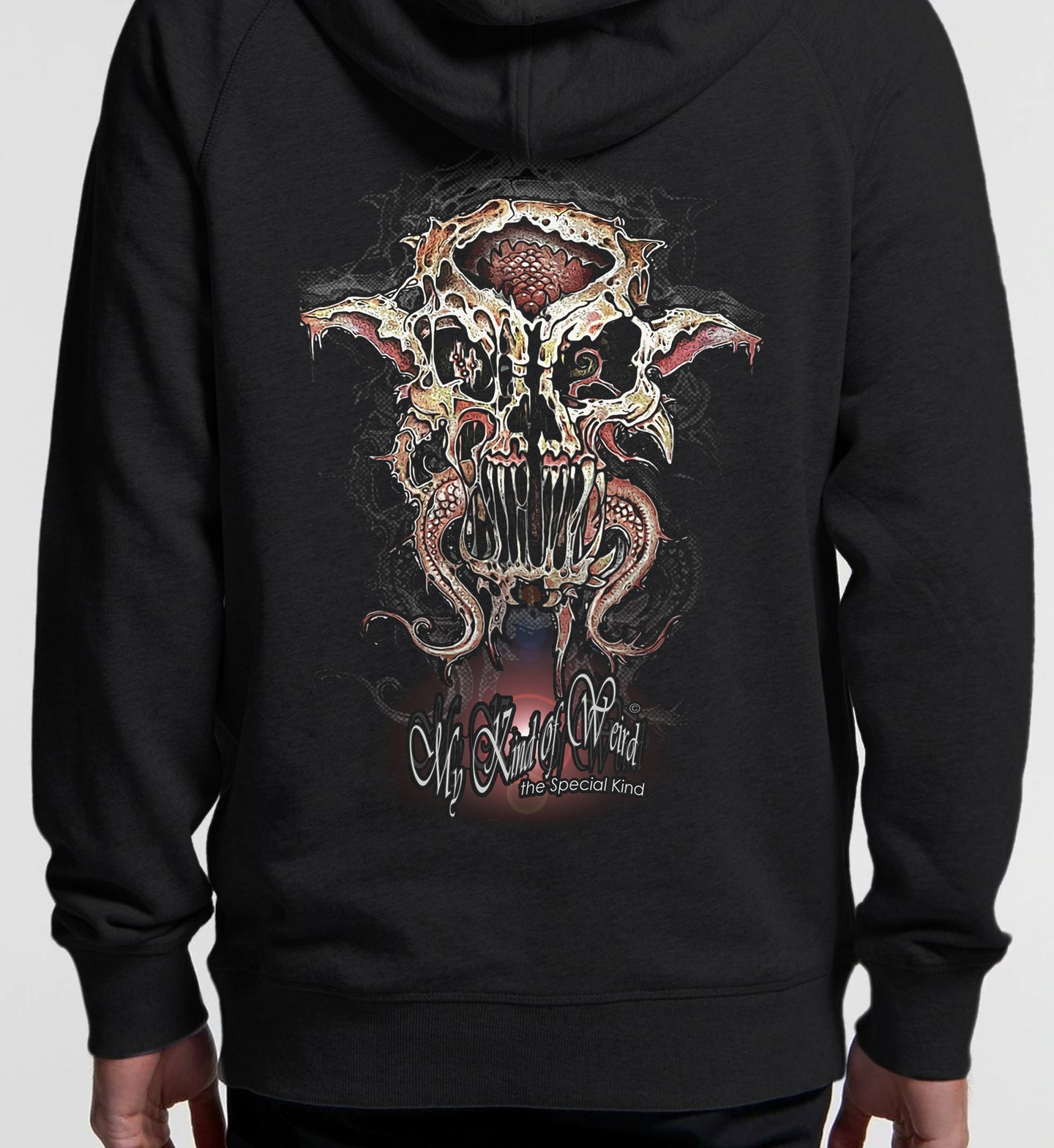 MY KIND OF WEIRD - SQUID - Kids & Youth Hoodie