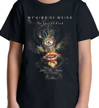 Load image into Gallery viewer, MY KIND OF WEIRD - EYE LIP - MEN'S TEE