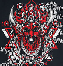 Load image into Gallery viewer, GRAPHIC HOODIE - SAMURAI MASK 6 - Kids & Youth Hoodie