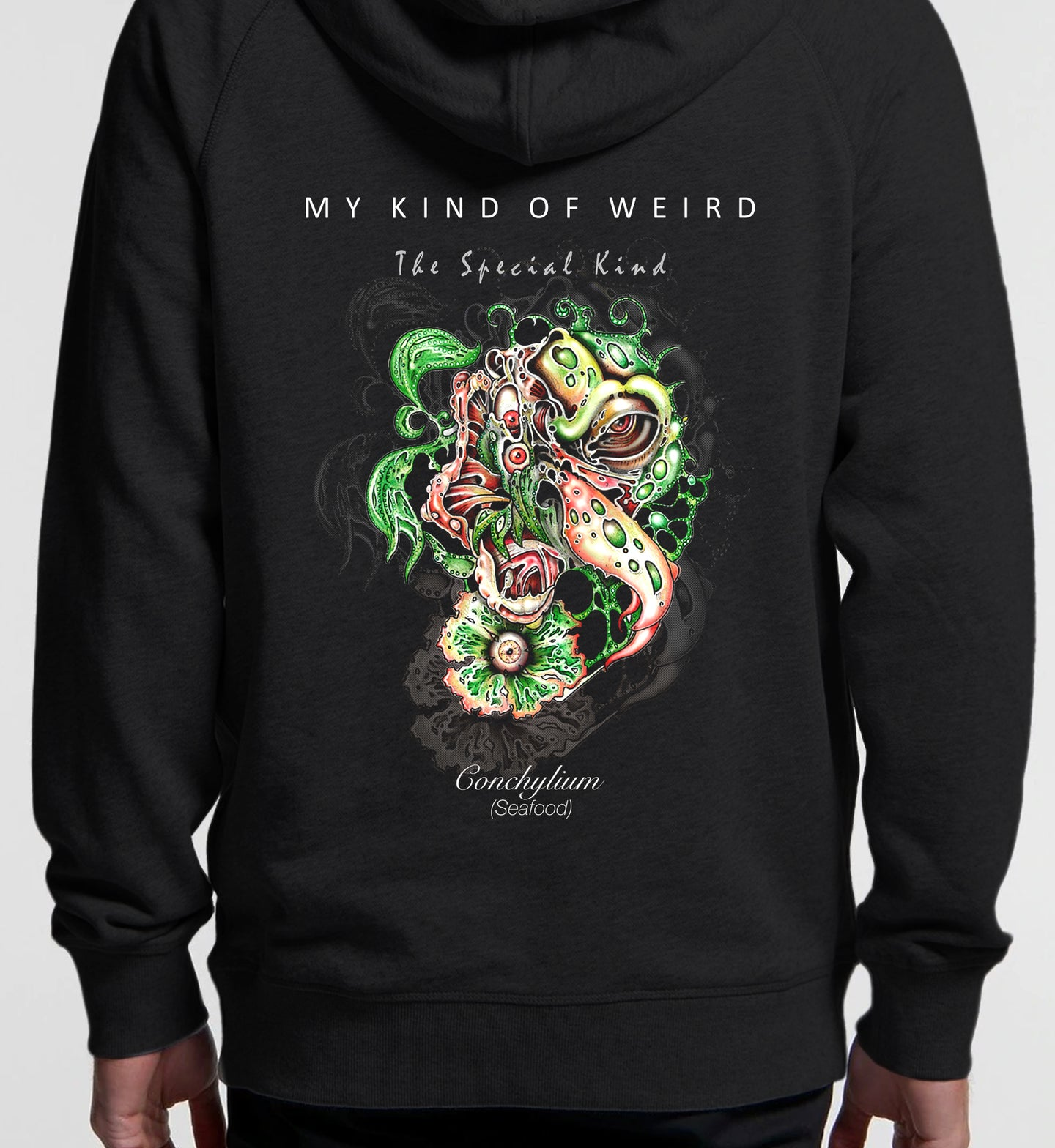 MY KIND OF WEIRD - SEAFOOD - PREMIUM HOODIE 5120/4210