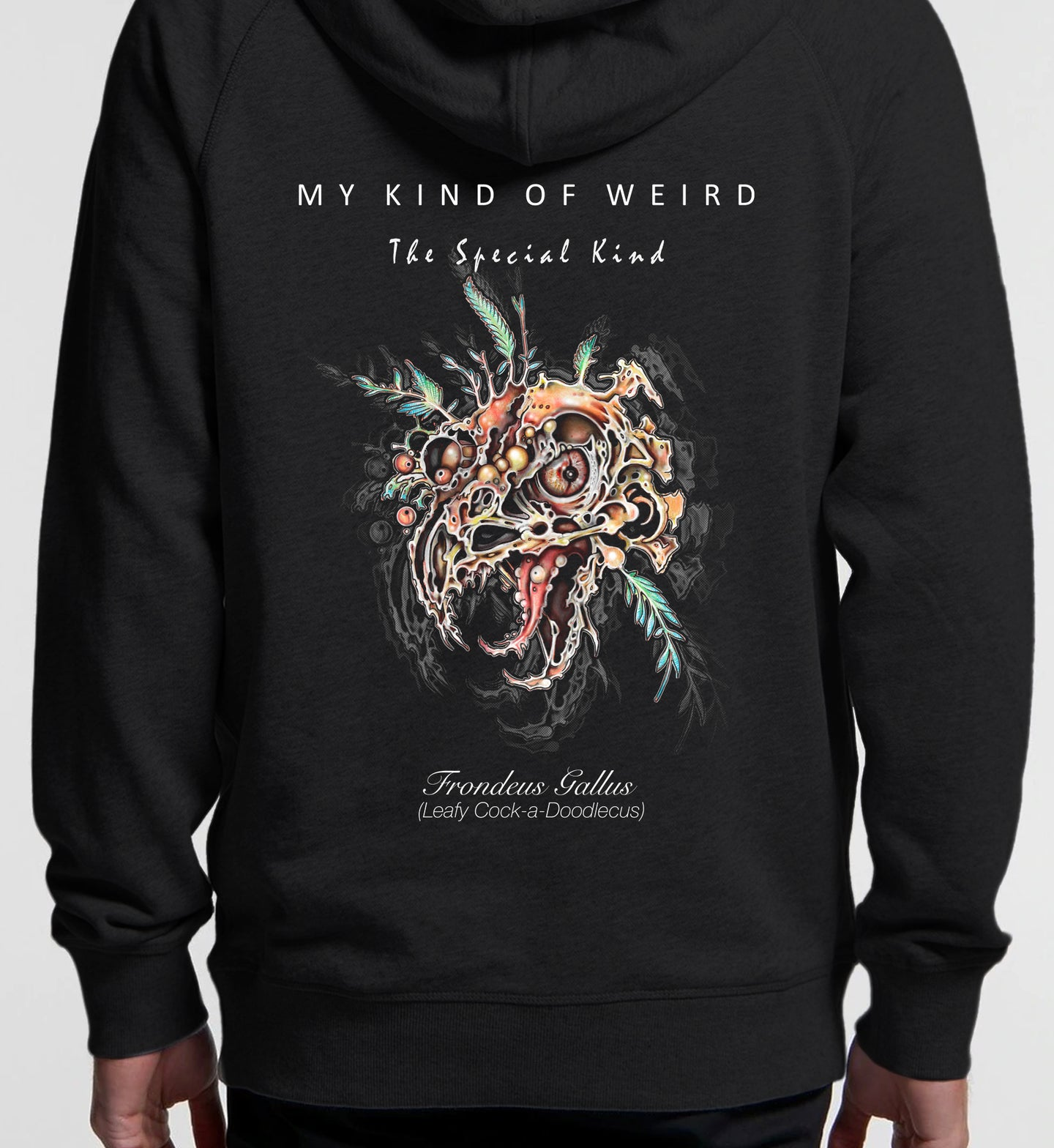 MY KIND OF WEIRD - ROOSTER - PREMIUM HOODIE 5120/4210