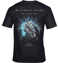 Load image into Gallery viewer, MY KIND OF WEIRD - EQUOS BLUE - WOMEN'S TEE
