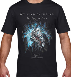 MY KIND OF WEIRD - EQUOS BLUE - MEN'S TEE