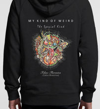 Load image into Gallery viewer, MY KIND OF WEIRD - FELINEFLORA - PREMIUM HOODIE 5120/4210