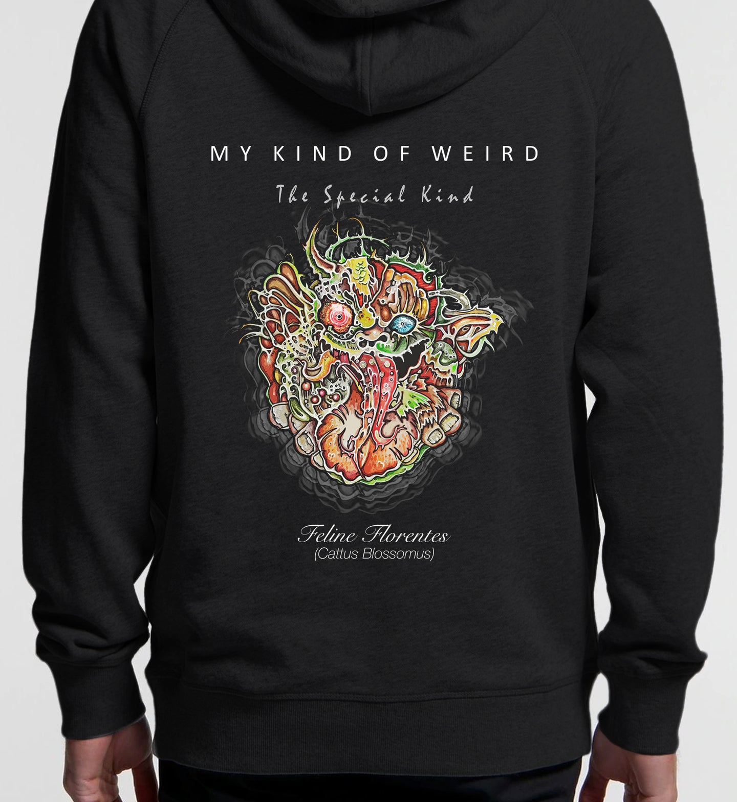 MY KIND OF WEIRD - FELINEFLORA - PREMIUM HOODIE 5120/4210