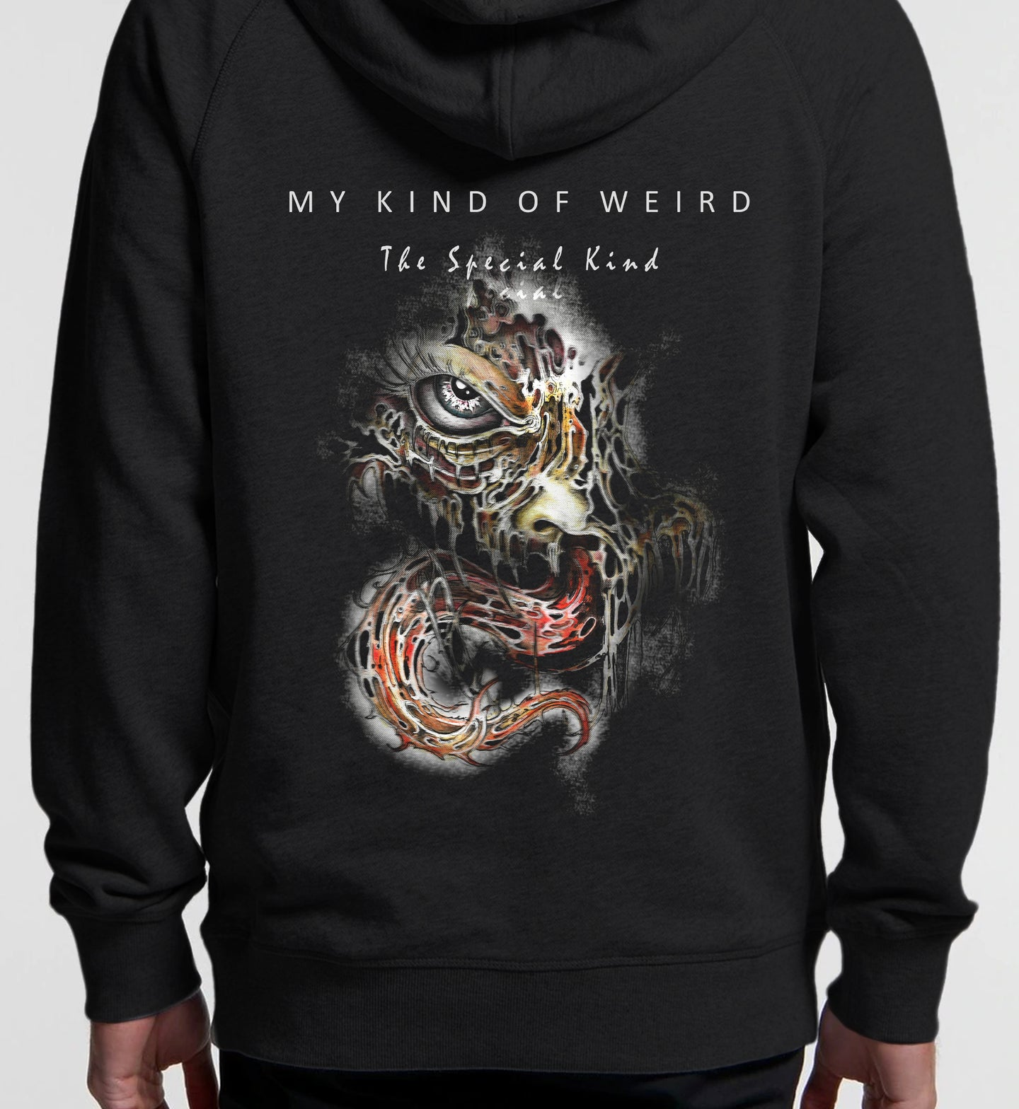 MY KIND OF WEIRD - SHADY IN COLOUR - PREMIUM HOODIE 5120/4210