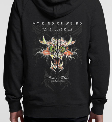 MY KIND OF WEIRD - CAT - Kids & Youth Hoodie