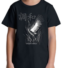 Load image into Gallery viewer, MAD MARTIAL ART DESIGNS - CRANE - HARMONY - WOMEN'S TEE