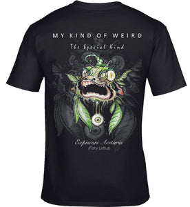 MY KIND OF WEIRD - FISH - MEN'S TEE