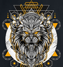 Load image into Gallery viewer, GRAPHIC TEE -  ROBOT LION W/Y