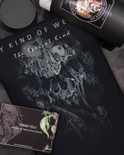 Load image into Gallery viewer, Men's DARK EDITION - PRINTED T - SKULL