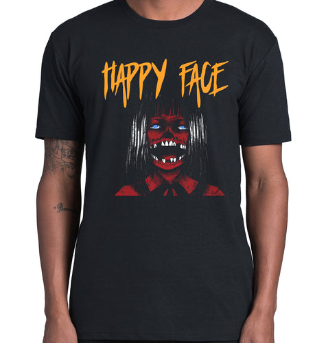 GRAPHIC TEE -  HAPPY FACES 3