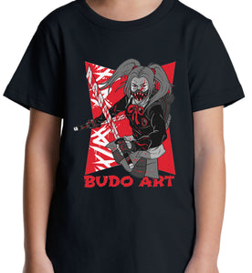 GRAPHIC TEE -  FEMALE BUDO PUNK