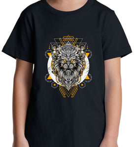 GRAPHIC TEE -  ROBOT LION W/Y