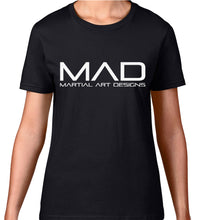 Load image into Gallery viewer, MAD Martial Art Designs - WOMEN'S PREMIUM 4001 TEE