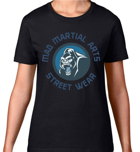 MAD STREET WEAR - GORILLA LOGO - WOMEN'S TEE