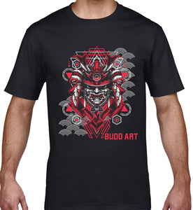 GRAPHIC TEE -  SAMURAI MASK 1