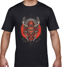 Load image into Gallery viewer, GRAPHIC TEE -  ANTLERS MASK 18