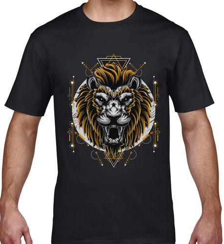 GRAPHIC TEE -  LION MASK 19